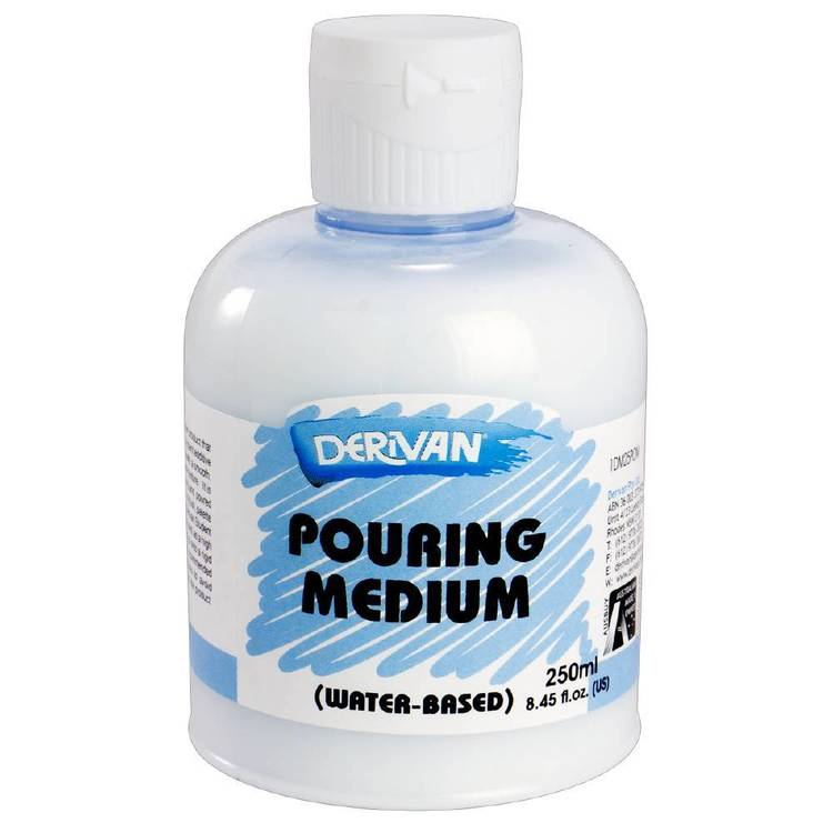 Derivan Pouring Medium Clear 250 mL