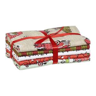 Christmas Flat Fats Bundle Holly Jolly 5 Piece