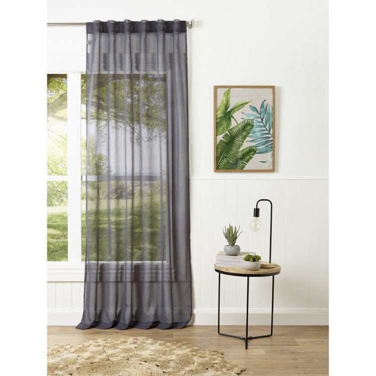 Filigree Esplanade Concealed Tab Sheer Curtain