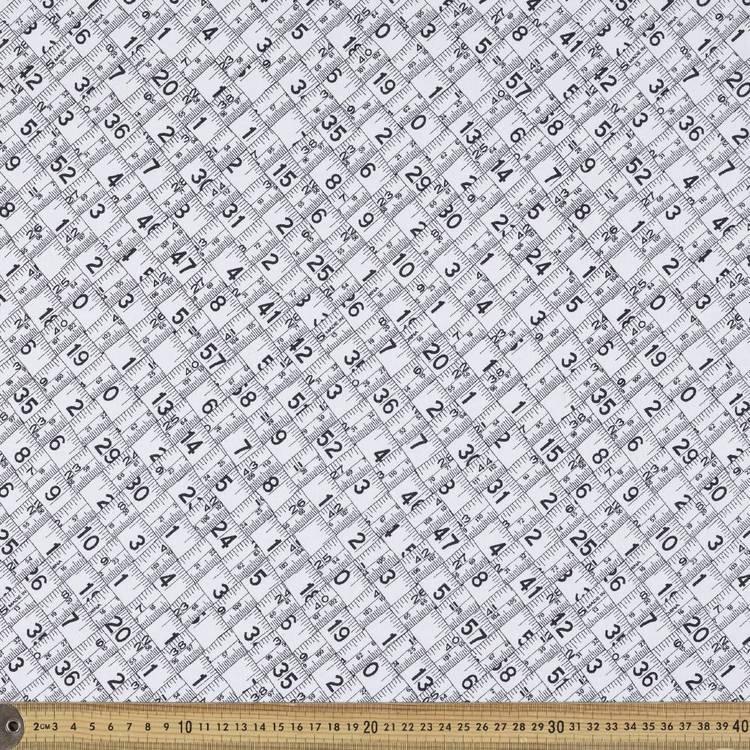 Mix Monotones Inches Fabric
