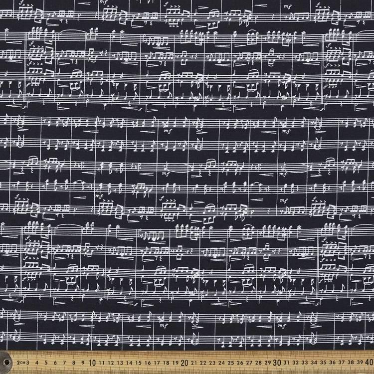 Mix Monotones Music 3 Cotton Fabric