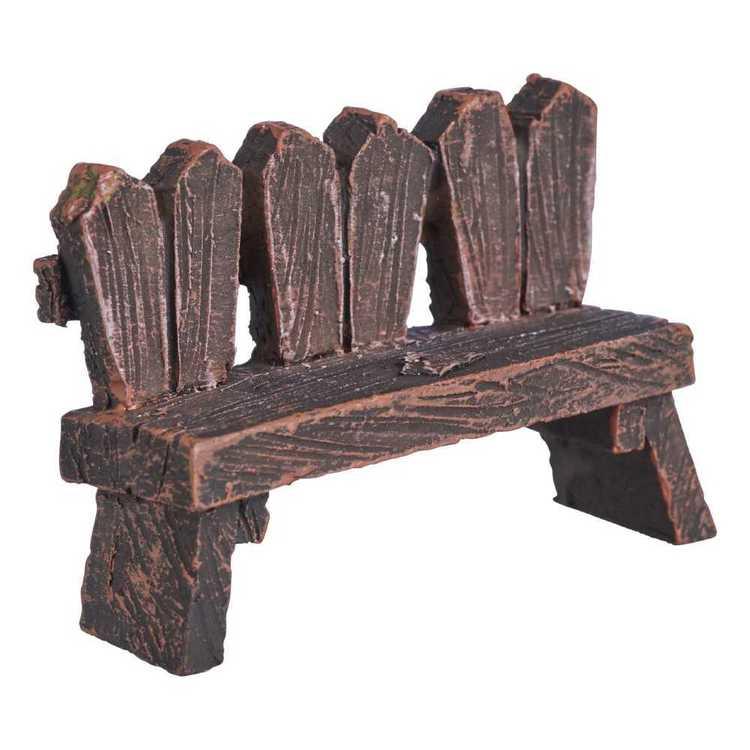 Fairy Village Mini Garden Heart Seat Figurine
