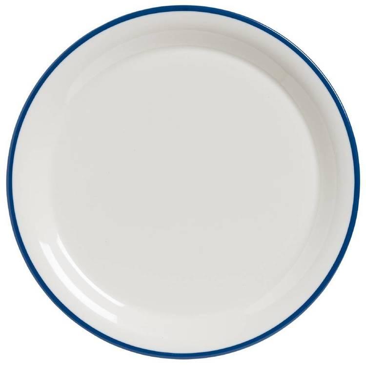Jab Vintage Enamel Melamine Plate