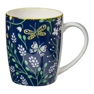 Cooper & Co Modern Petal Farmhouse Mug