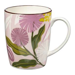 Cooper & Co Modern Poppy Farmhouse Mug