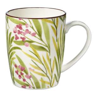 Cooper & Co Modern Dahlia Farmhouse Mug