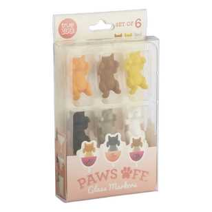 T-True Zoo Barware Paws On Wine Markers