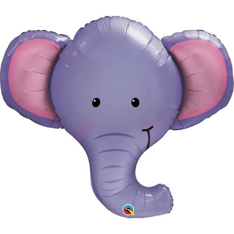 Qualatex Ellie Elephant Foil Balloon