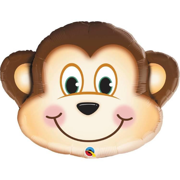 Qualatex Mischievous Monkey Foil Balloon