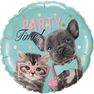 Qualatex Party Time Pets Foil Balloon