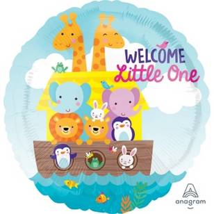 Amscan Anagram Welcome Little One Baby Foil Balloon