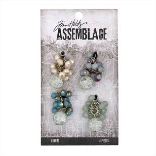 Tim Holtz Charms Beaded Clusters