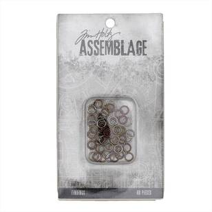 Tim Holtz Findings Assorted Jump Rings