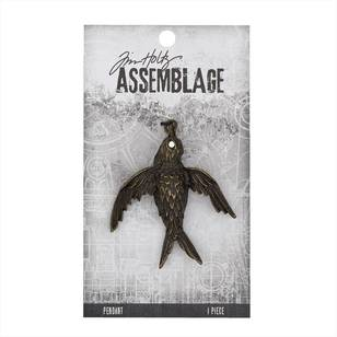 Tim Holtz Pendant Bird