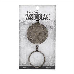 Tim Holtz Charms Compass Monocle