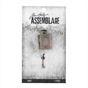 Tim Holtz Locket Book And Key