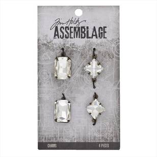 Tim Holtz Charms Faceted Gems