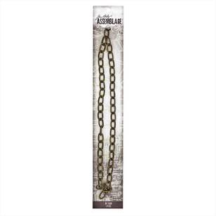 Tim Holtz Brass Link Chain