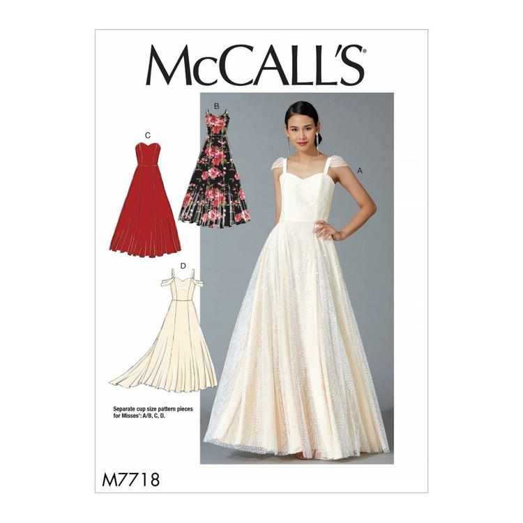 McCall's Pattern M7718 Misses' Dresses