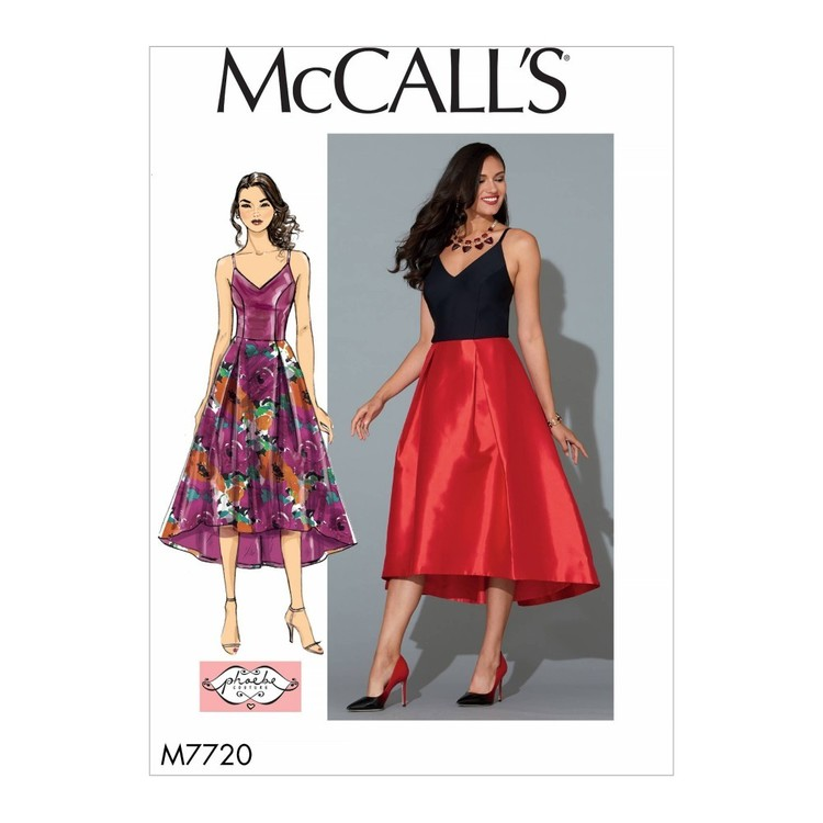 McCall's Pattern M7720 Misses' Dress