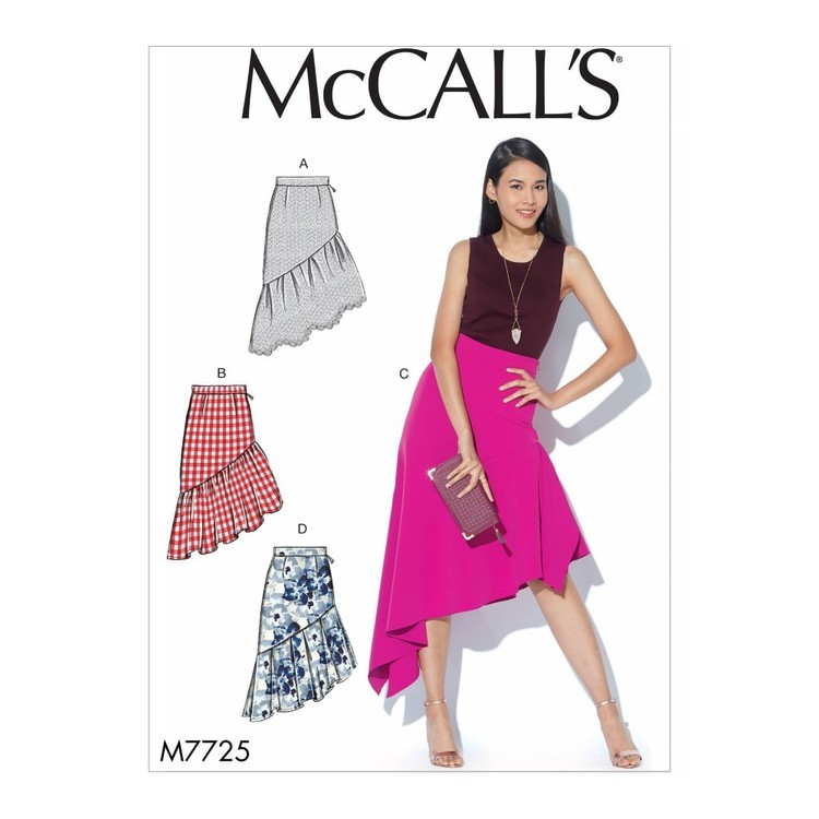 McCall's Pattern M7725 Misses' Skirts