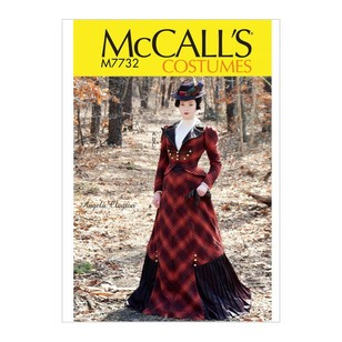 McCall's Pattern M7732 Misses' Costume