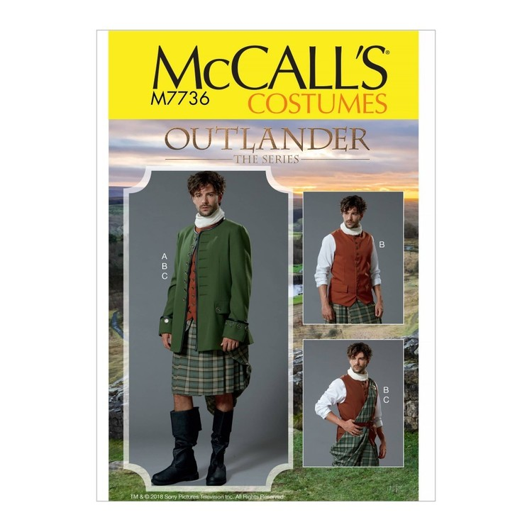 McCall's Pattern M7736 Men's Costume