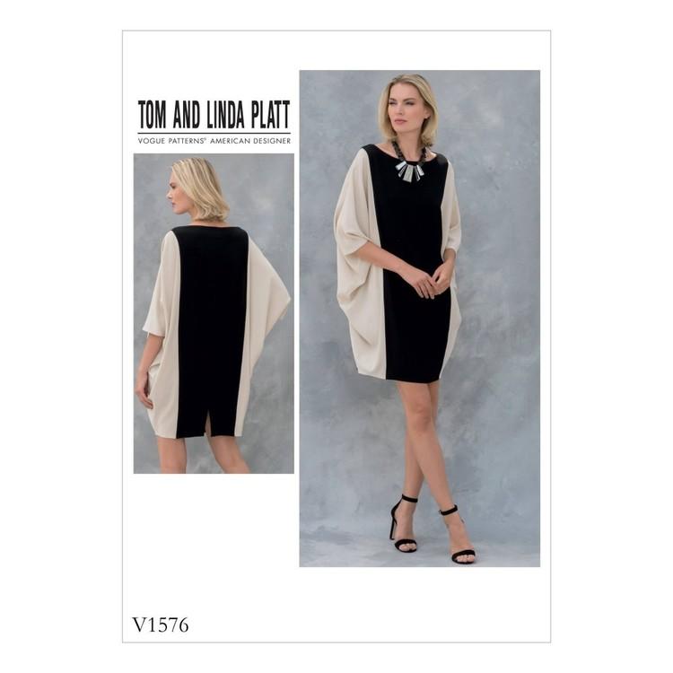 Vogue Pattern V1576 Misses Dress