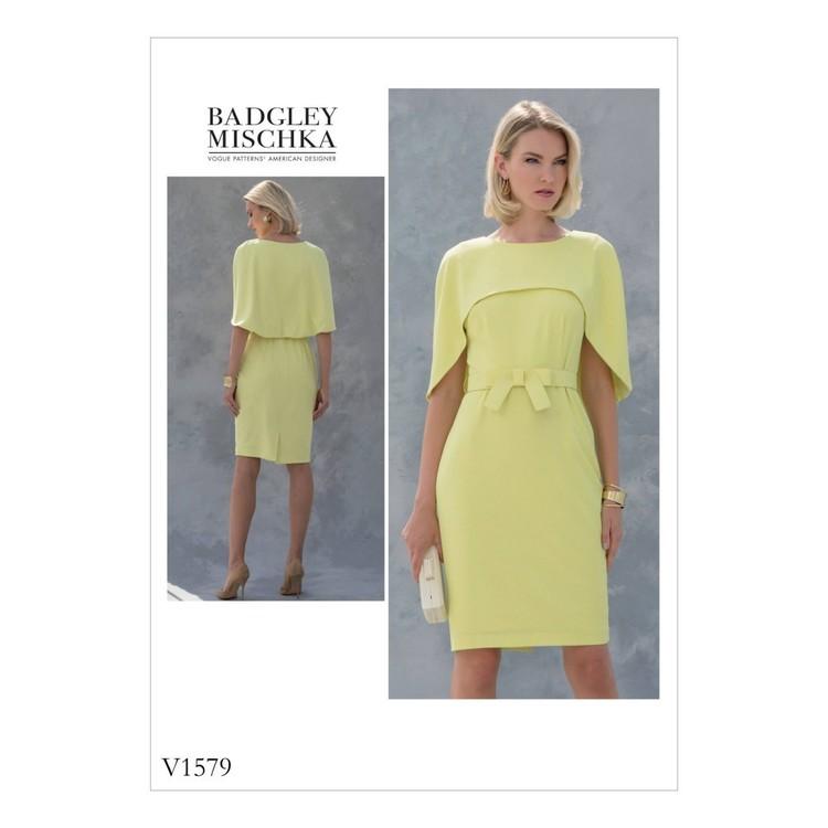 Vogue Pattern V1579 Misses/ Petite Dress