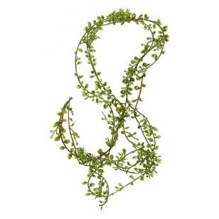 Green Stems Mini Leaves Garland
