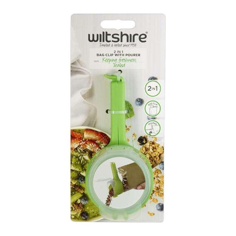 Wiltshire 2 In 1 Bag Clip & Pourer