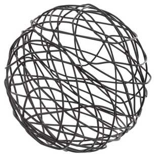 Bouclair Industrial Artefacts Wire Ball