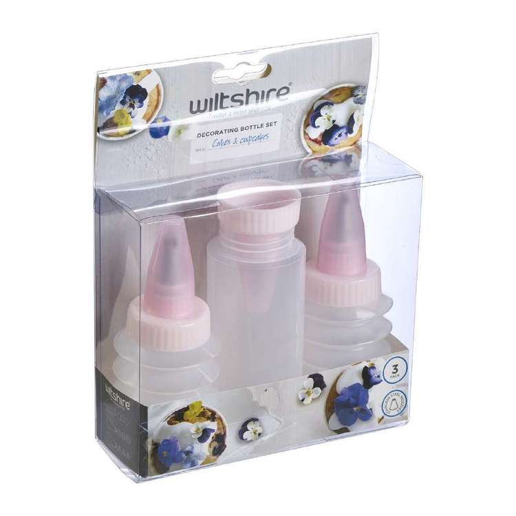Wiltshire Squeeze Bottle Icing Set  Clear