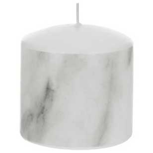 Modern Scandi 7 cm Marble Candle