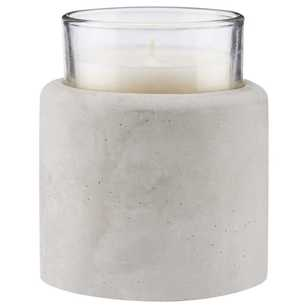 Modern Scandi Cement Candle