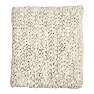 Living Space Knitted Throw