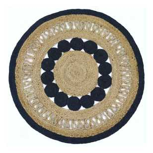 Laura Dyed Round Jute Rug
