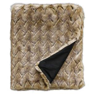 Elmwood Faux Fur Throw