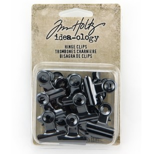 Tim Holtz Hinge Clips 15 Pack