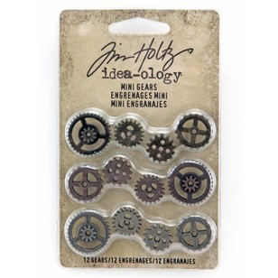 Tim Holtz Mini Gears 12 Pack