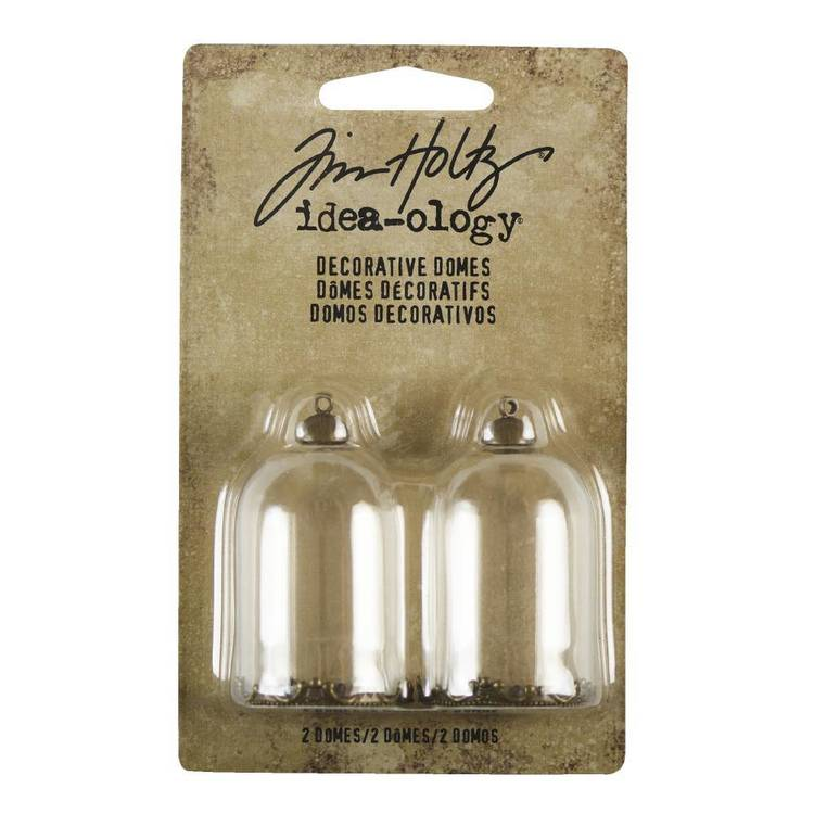 Tim Holtz Decorative Domes 2 Pack