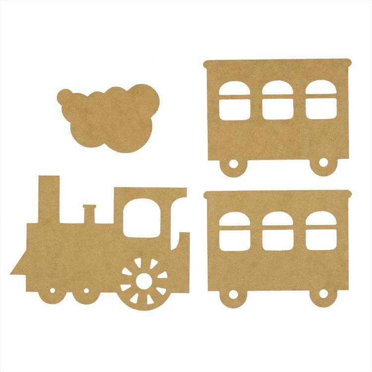 Kaisercraft Train Wall Art Pack