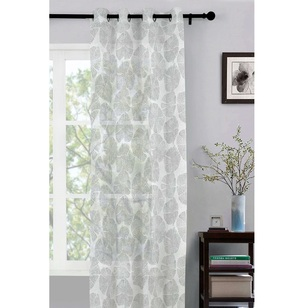 Caprice Lily Sheer Eyelet Curtain