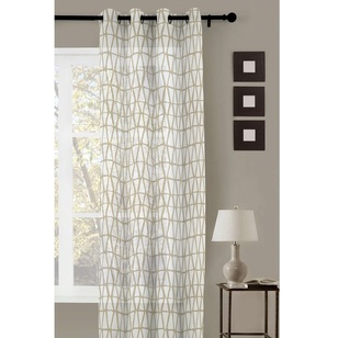 Caprice Linearsheer Eyelet Curtain