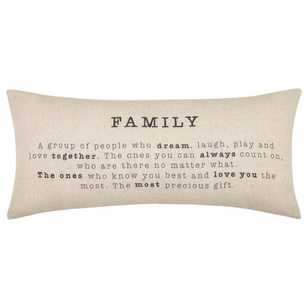 Bouclair Industrial Artefacts Familia Cushion