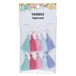 Semco Tassels 10 Pack Multi-coloured