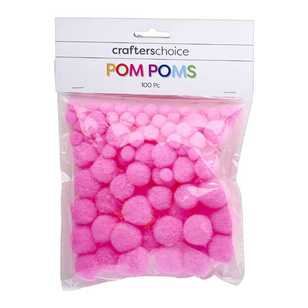 Crafters Choice Assorted Pom Poms