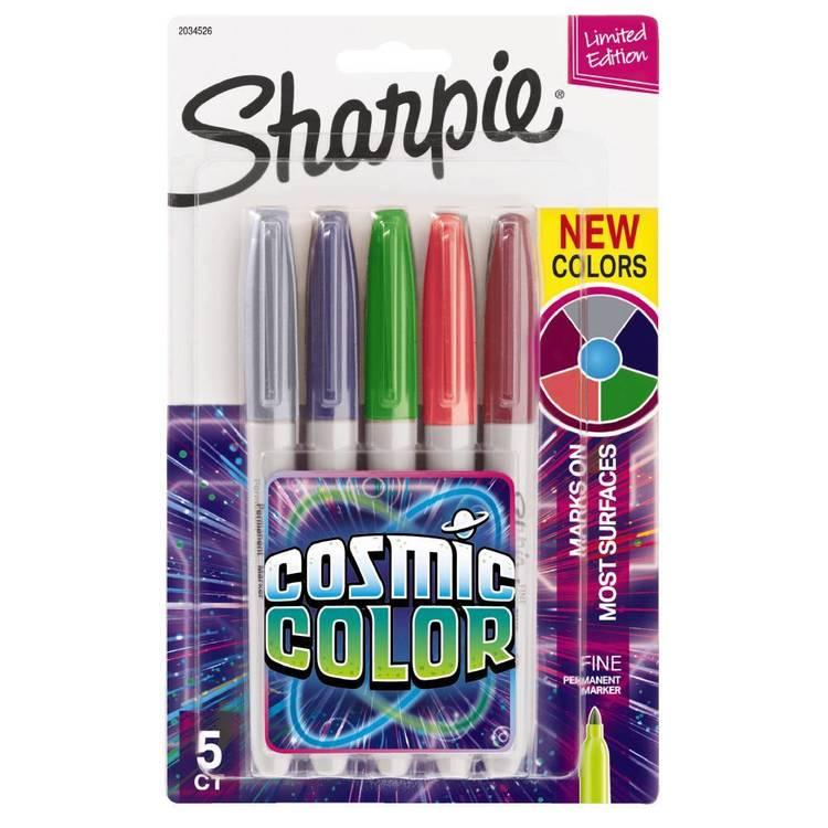 Sharpie Cosmic Colour 5 Pack