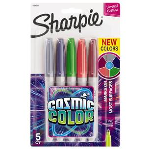 Sharpie Cosmic Colour 5 Pack