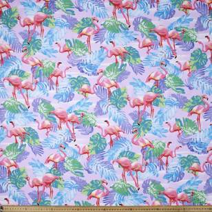 Monsteria Printed Poplin Fabric